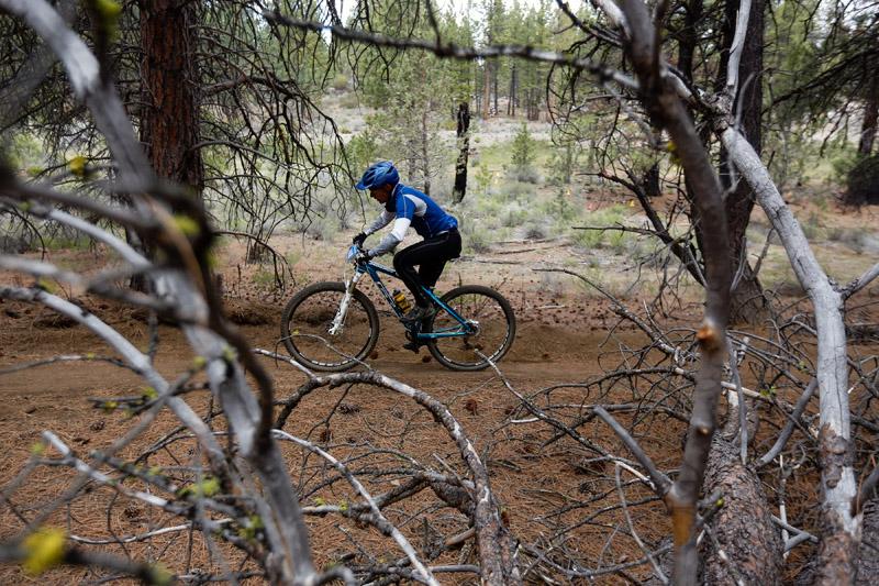 Chainbreaker mountain bike race in Bend, Oregon.